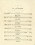 Georgia Dickert Piano Recital Program Collection - Accession 1150 - M526 (577)