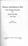 Planters and Business Men: The Guignard Family of South Carolina - Accession 715 #37 by Family History - Guignard Family and Arney R. Childs