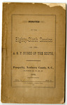 Associate Reformed Presbyterian Synod Minutes Collections - Accession 1557