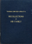 Thomas Dryden Spratt's Recollections of His Family - Accession 715 #69