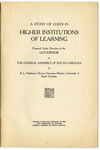 A Study of Costs in Higher Institutions of Learning - Accession 1311 - M649 (703)