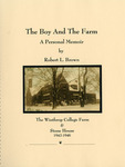 Robert Little Brown, The Boy And The Farm Collection - Accession 1626