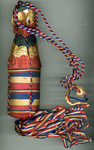 S. S. Rock Hill Victory Ship Christening Bottle and Album- Accession 1706
