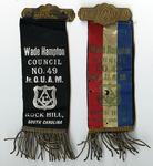 Junior Order of United American Mechanics, Wade Hampton Council Records - Accession 1682