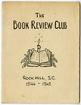 Book Review Club of Rock Hill Records - Accession 1684