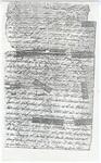 Isaac N. Pollard Letter - Accession 1538 M748 (805)