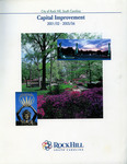 City of Rock Hill Capital Improvement Plan - Accession 1621 - M791 (848)