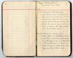 Reverend Edward King Hardin, Jr. Prayer Meeting Record Book - Accession 1692 - M815 (872)
