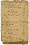 Yorkville Store Account Ledger - Accession 1743 - M832 (889)