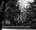 Front of Margaret Nance hall April 1948 by Winthrop University and Clarence H. and Anna E. Lutz Foundation