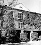 Front of Margaret Nance Hall September 9, 1955 by Winthrop University and Clarence H. and Anna E. Lutz Foundation