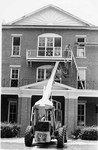 Margaret Nance Hall exterior renovations, July 1986