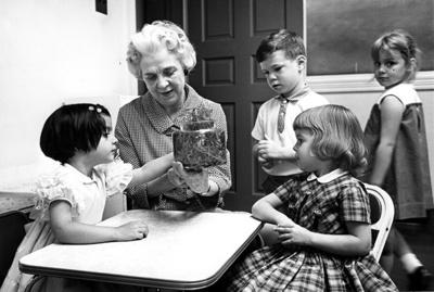 Macfeat Nursery 1965- Mrs Forsythe