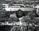 McLaurin Hall Aerial View April 20, 1964 by Winthrop University and Clarence H. and Anna E. Lutz Foundation