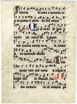 Antiphonal (Feast of St. Nicholas)- Med MS 1B by Unknown