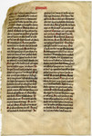 Lecturn Bible- Med MS 6A by Unknown