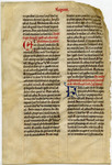 Lecturn Bible- Med MS 6B by Unknown