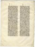 Homilies on the Psalms- Med MS 9B by John Chrysostom