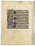 Book of Hours, Penitential Psalms- Med MS 13B