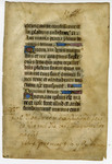 "Book of Hours, ""Livre de Raison""- Med MS 14A"