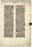 Missal, Sanctorale- Med MS 18A