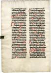 Missal, Sanctorale- Med MS 18B