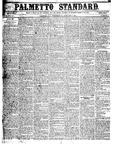 The Palmetto Standard- January 7, 1852 by C. Davis Melton