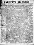 The Palmetto Standard- January 14, 1852 by C. Davis Melton