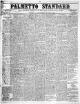 The Palmetto Standard- January 28, 1852 by C. Davis Melton