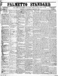 The Palmetto Standard- February 4, 1852 by C. Davis Melton