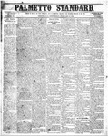 The Palmetto Standard- February 11, 1852 by C. Davis Melton