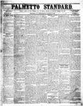 The Palmetto Standard- March 10, 1852 by C Davis Melton