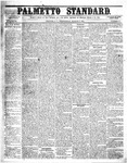The Palmetto Standard- March 17, 1852