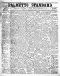 The Palmetto Standard- March 17, 1852 by C Davis Melton