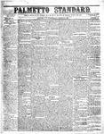 The Palmetto Standard- March 24, 1852 by C Davis Melton