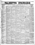 The Palmetto Standard- March 31, 1852 by C Davis Melton