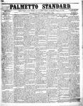 The Palmetto Standard- April 7, 1852 by C Davis Melton