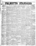 The Palmetto Standard- April 14, 1852 by C Davis Melton