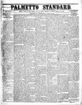 The Palmetto Standard- April 21, 1852 by C Davis Melton