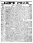The Palmetto Standard- May 19, 1852