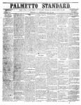 The Palmetto Standard- May 26, 1852 by C Davis Melton
