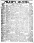 The Palmetto Standard- June 9, 1852 by C Davis Melton