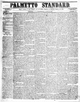 The Palmetto Standard- June 16, 1852 by C Davis Melton