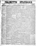 The Palmetto Standard- June 30, 1852 by C Davis Melton
