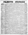 The Palmetto Standard- July 7, 1852 by C Davis Melton
