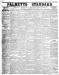 The Palmetto Standard- July 14, 1852 by C Davis Melton