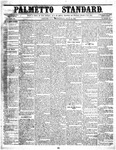 The Palmetto Standard- July 21, 1852 by C Davis Melton