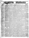 The Palmetto Standard- July 28, 1852 by C Davis Melton