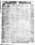 The Palmetto Standard- August 25, 1852 by C Davis Melton