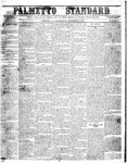 The Palmetto Standard- September 1, 1852 by C Davis Melton